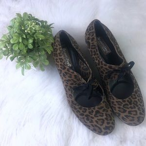 BeautiFeel Wedge Shoes Cheetah Leopard Euro 40